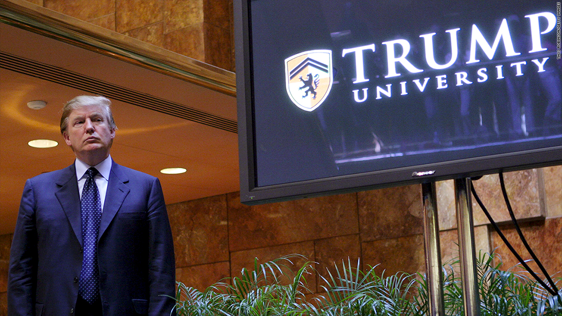 Lone holdout delays approval on Trump University settlement