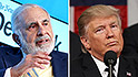 Billionaire Carl Icahn steps down as adviser to President Trump
