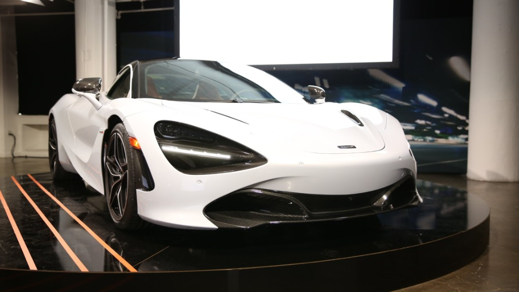 McLaren 720S is powerful luxury
