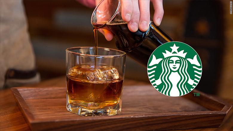 Starbucks Unveils Whiskey Barrel Aged Coffee Yum