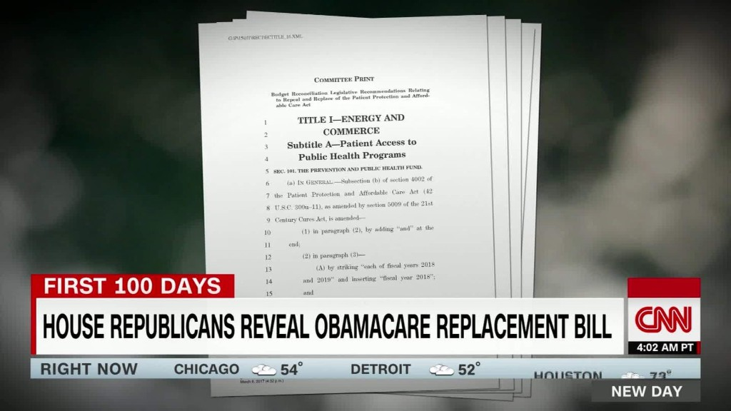 Republicans divided over Obamacare replacement
