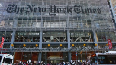 New York Times publisher takes 13% pay cut
