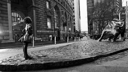'Fearless Girl' statue is set to leave on April 2nd