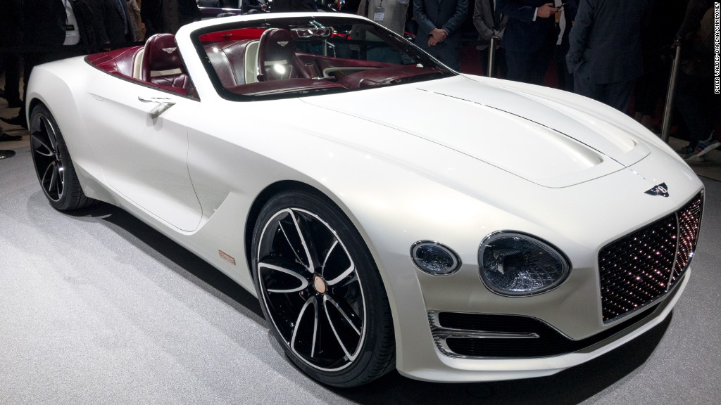 Bentley makes its first electric concept car