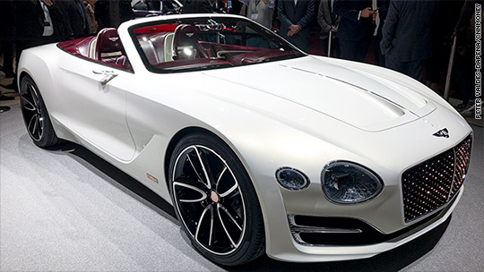 First-ever electric Bentley has quiet style
