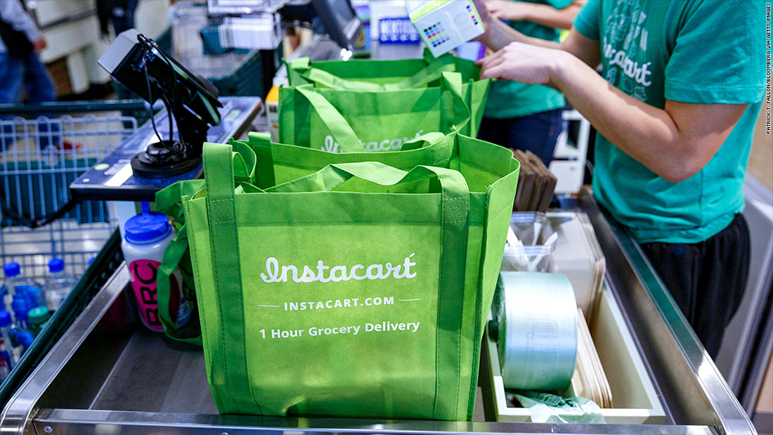 Instacart is now a $3.4 billion grocery startup