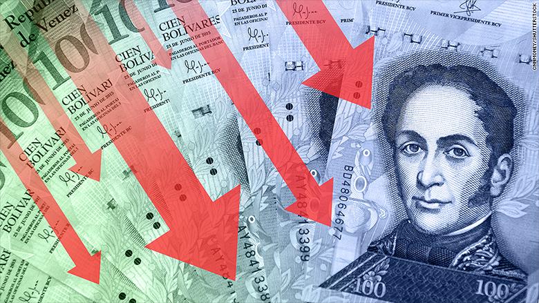 Venezuela only has $10 billion left in reserves