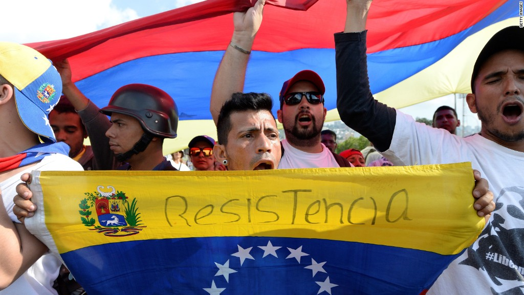 Venezuelan high court ruling spurs protests