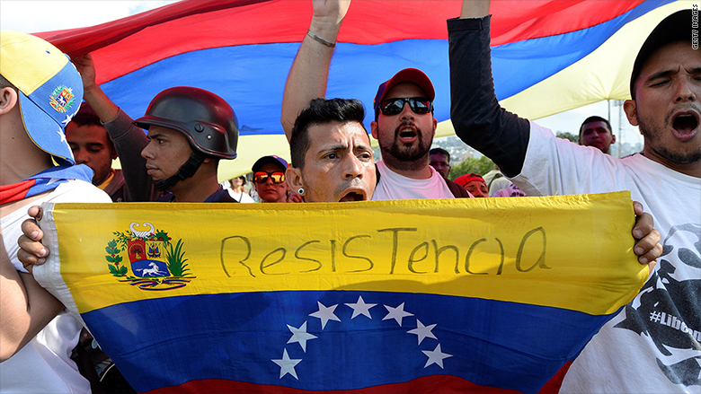 As protests swell, Venezuela's economic crisis deepens