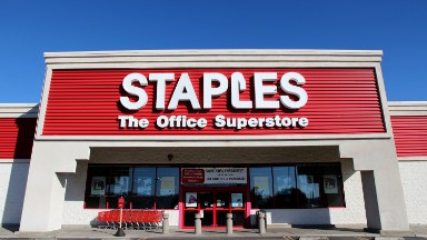 Staples is selling itself for a fraction of its former value