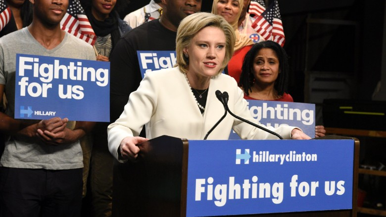 Kate McKinnon as Hillary Clinton