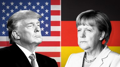 Former ambassador: Merkel can handle Trump