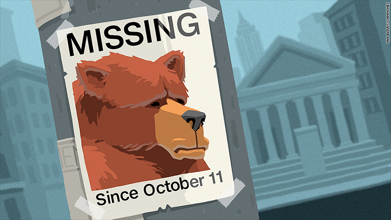 missing bear poster stock