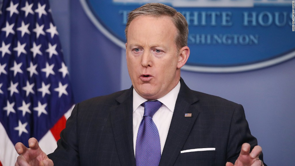 Sean Spicer's most eventful press briefings