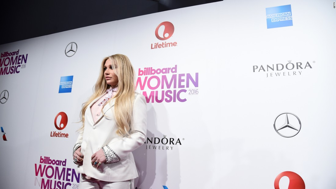 Kesha offers online living advice