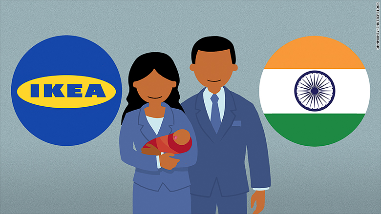 ikea india paid parental leave 2