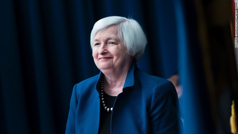 Janet Yellen sounds like a believer in the economy