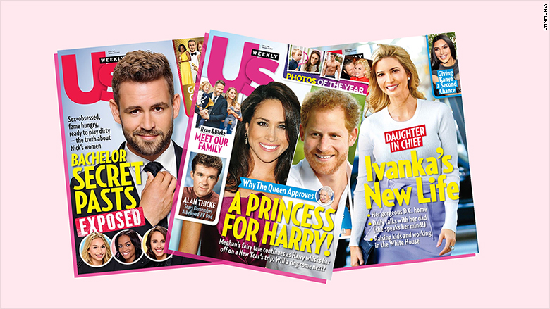 Us Weekly Magazine Sold to David Pecker's American Media