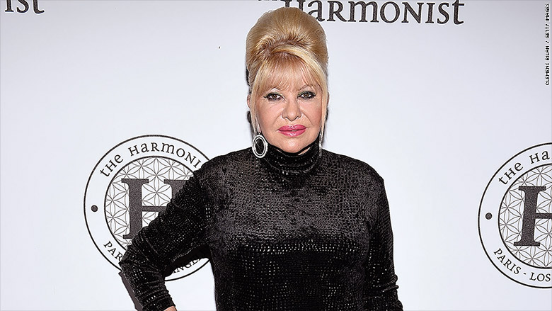 Ivana Trump to publish 'unfiletered personal stories'