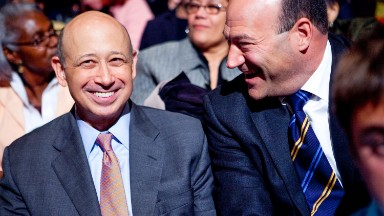 Goldman Sachs CEO responds to 'Government Sachs' criticism