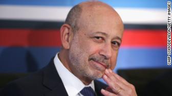 Lloyd Blankfein Goldman Sachs CEO