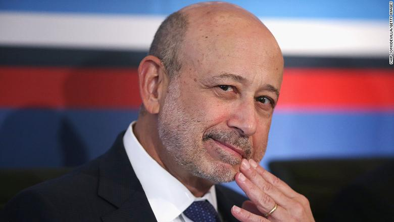 Lloyd Blankfein: Odds of a 'bad outcome' for economy have gone up