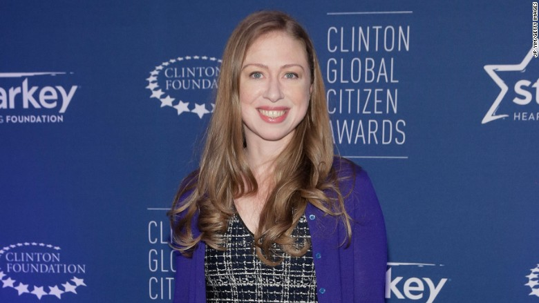 Image result for chelsea clinton expedia