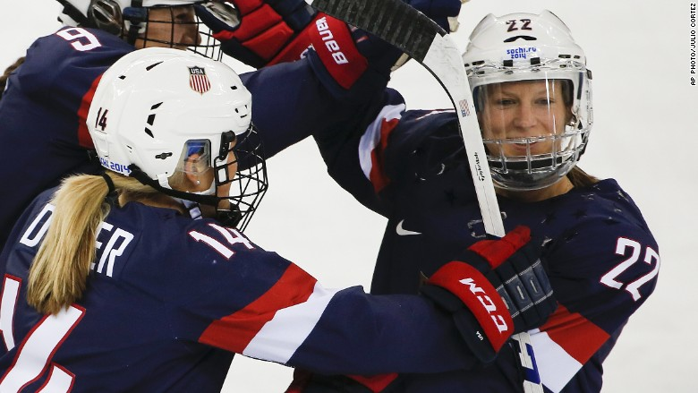 Image result for American Women's Ice Hockey Team Reach Olympic Final