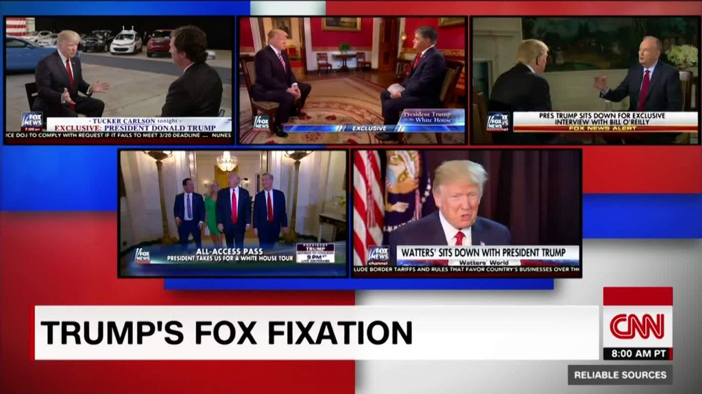 Stelter: Trump has a Fox News fixation