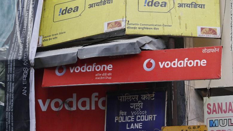 Vodafone merger creates Indian mobile giant