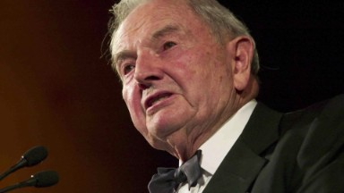 Banker and philanthropist David Rockefeller dies