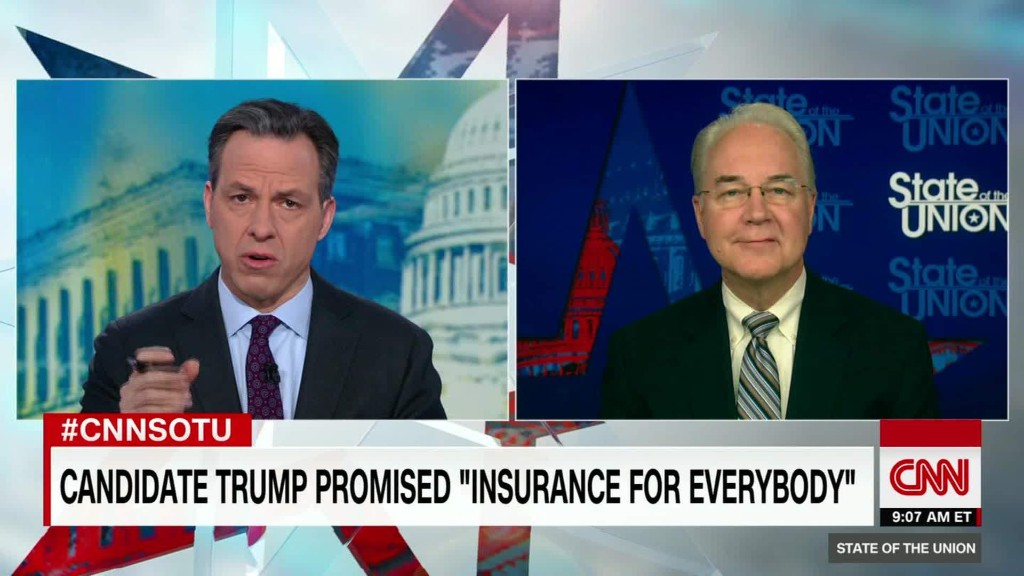 Price: Health care plan won't leave people out
