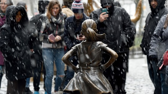 Should 'Fearless Girl' stare down the Wall Street bull forever?