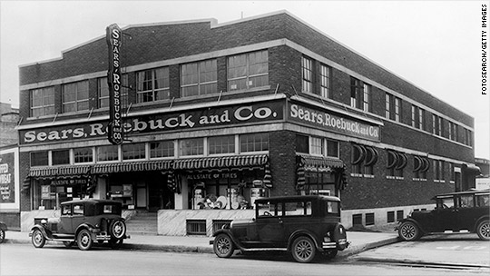 A look at Sears through the years