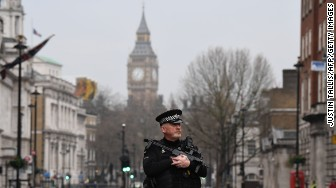 westminster attack policeman
