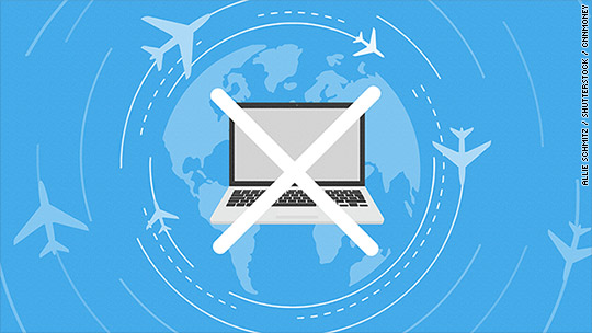 Laptop ban in Europe would cost airline passengers $1.1 billion