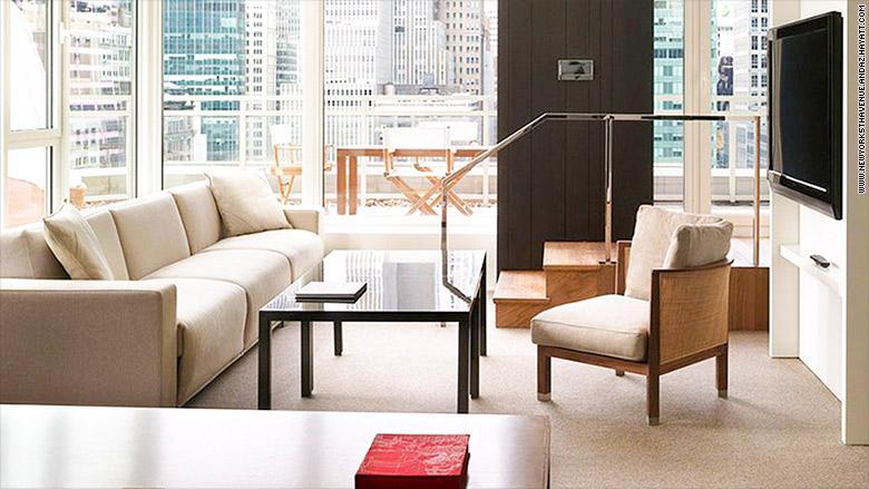 top luxurious suites business travelers andaz 5th avenue