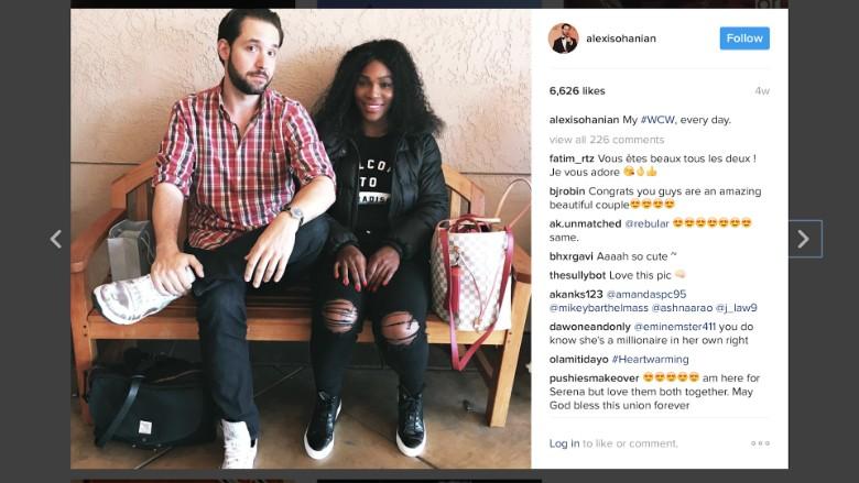 Alexis Ohanian: Serena Williams humbles me - Video - Tech