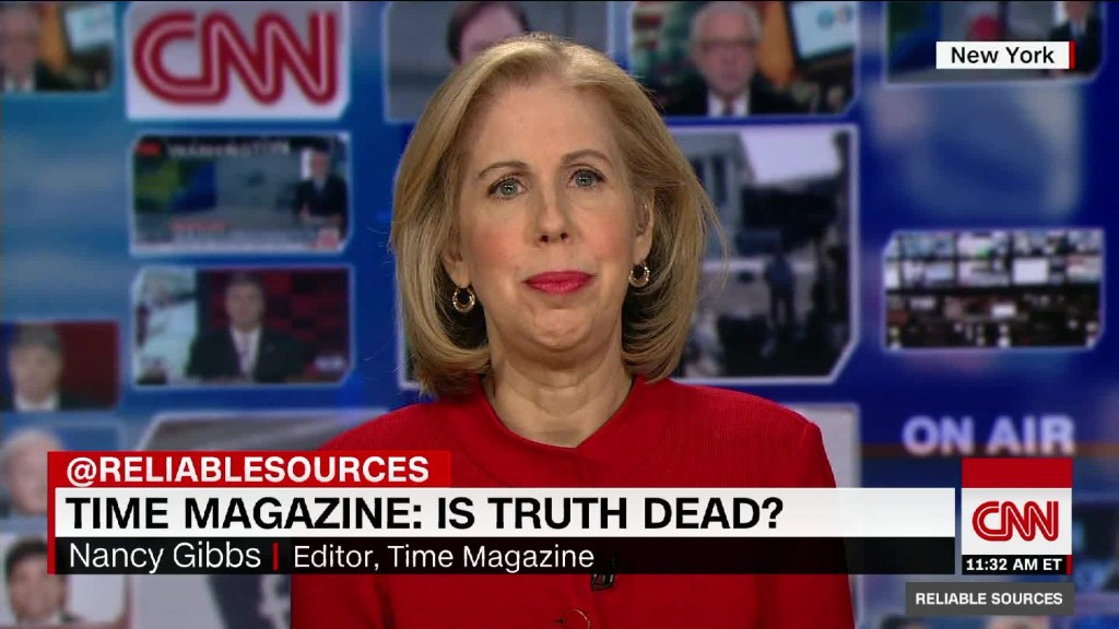 "Time magazine asks: ""Is truth dead?"""