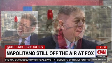 Napolitano still off the air at Fox