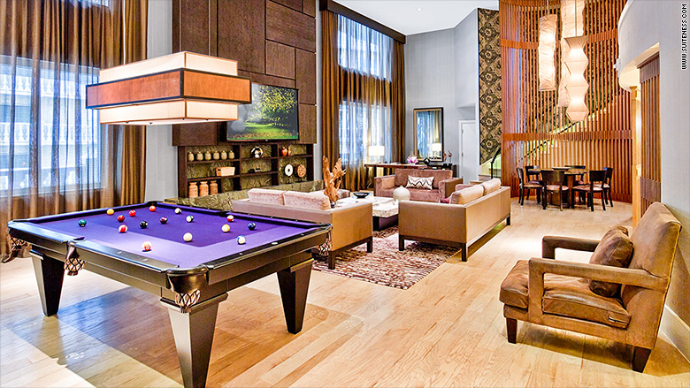 top luxurious suites business travelers nobu hotel caesars palace