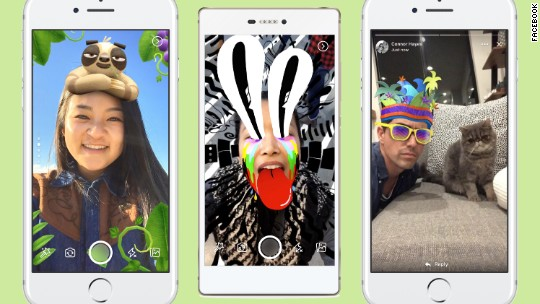 Facebook unveils latest Snapchat-like features
