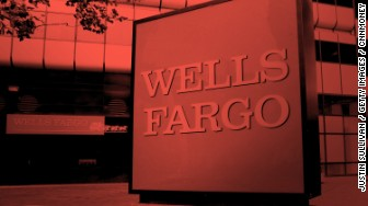 wells fargo sign red