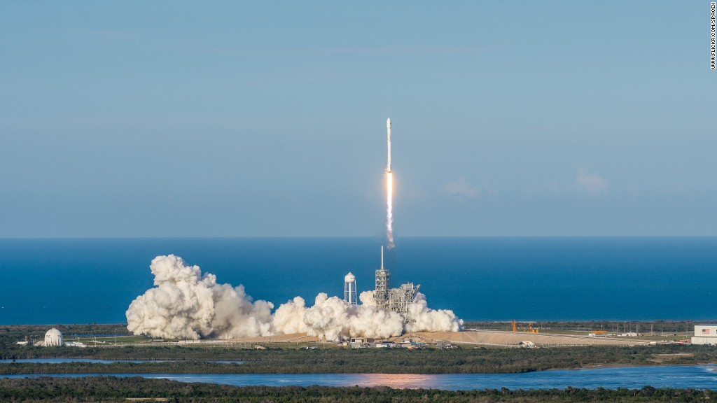 SpaceX successfully launches a used rocket