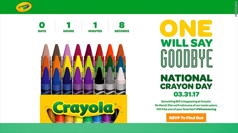 Color us sad: Crayola is retiring the dandelion crayon