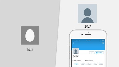 Twitter ditches iconic egg default avatar