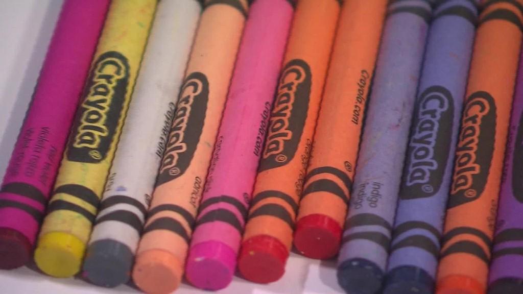 Crayola is retiring the dandelion crayon