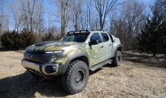 GM's super-quiet, super-cool military 4X4