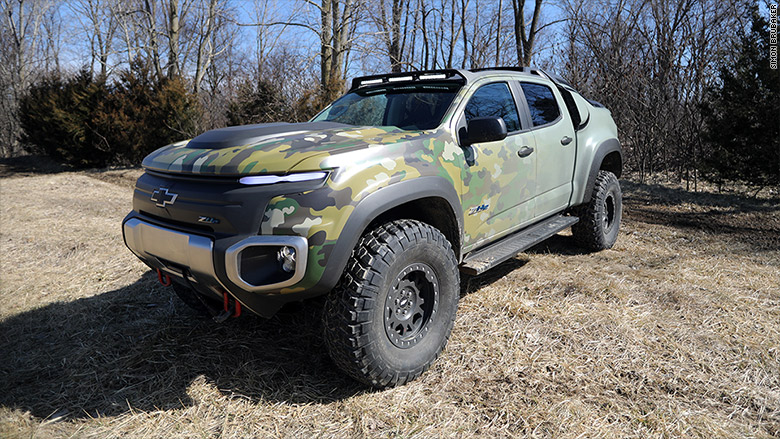 Truck Mud Tires >> GM's super-quiet, super-cool military 4X4