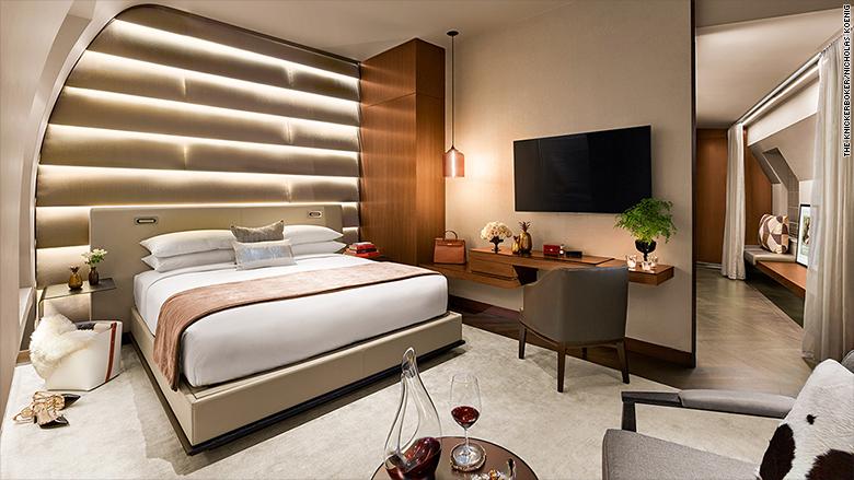 top luxurious suites business travelers knickerbocker hotel